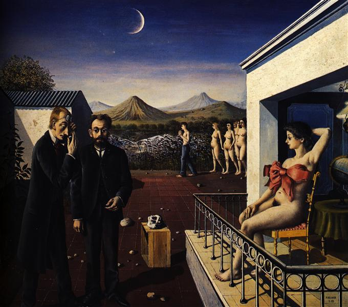 Phases of the Moon, 1939 - Paul Delvaux