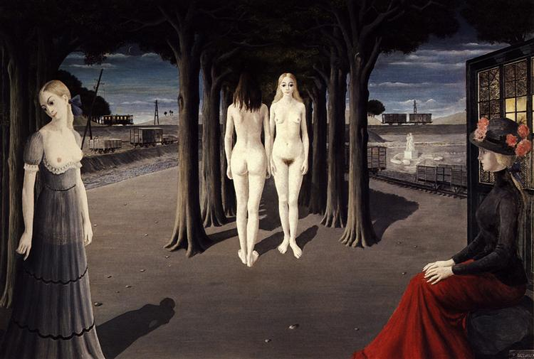 Ruins of Selinunte - Paul Delvaux