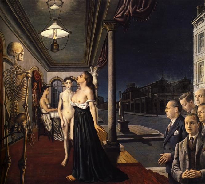 The Musee Spitzner, 1943 - Paul Delvaux