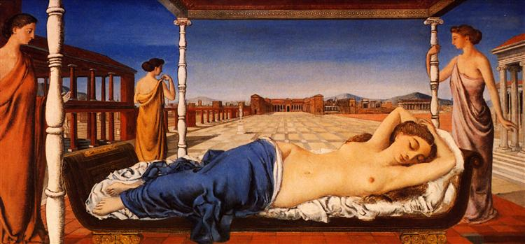 The Sleeping Venus, 1943 - Paul Delvaux