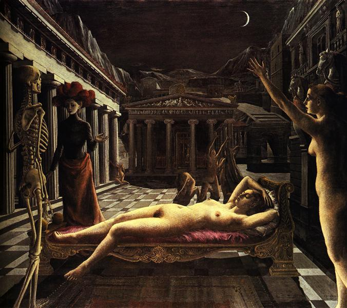 The Sleeping Venus, 1944 - Paul Delvaux
