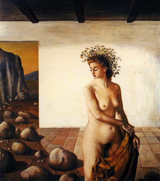 The Vigil, 1940 - Paul Delvaux