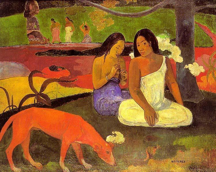 Arearea I, 1892 - Paul Gauguin