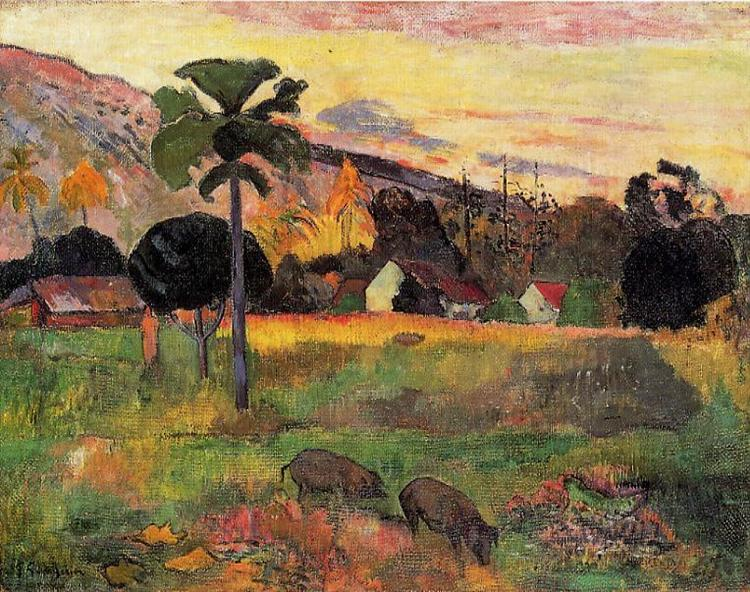 Come here, 1891 - Paul Gauguin