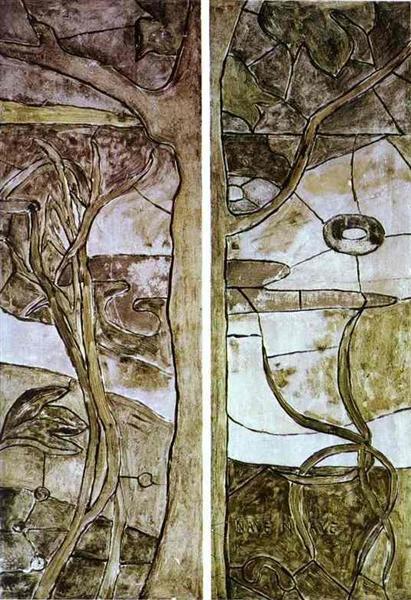 Floral and vegetable motifs, 1893 - Paul Gauguin