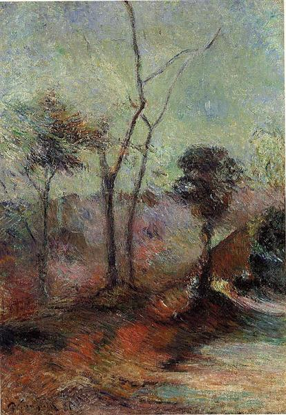 Landscape, 1885 - Paul Gauguin
