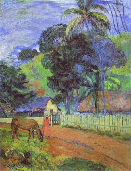 Landscape, 1899 - Paul Gauguin