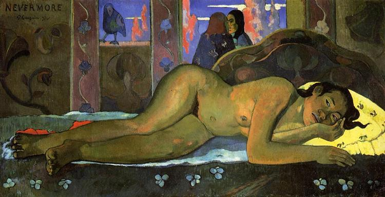 Nevermore - Paul Gauguin