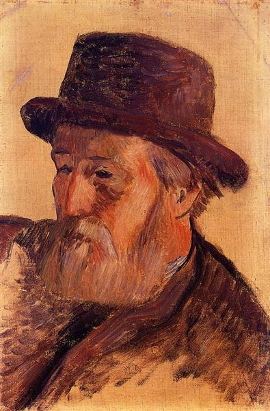 Portrait of Isidore Gauguin, 1884 - Paul Gauguin