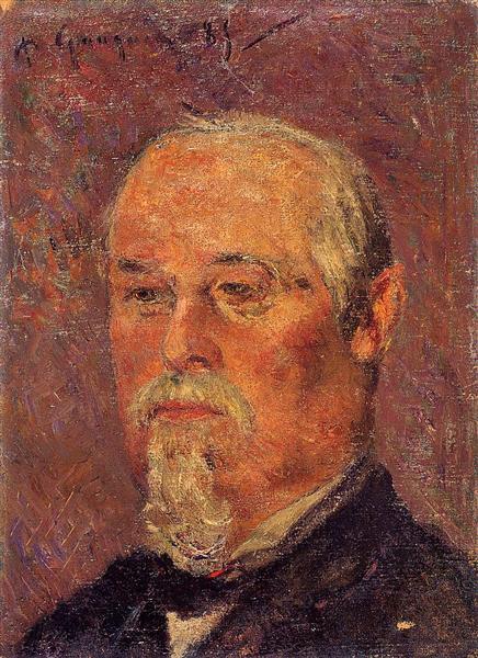 Portrait of Philibert Favre, 1885 - Paul Gauguin