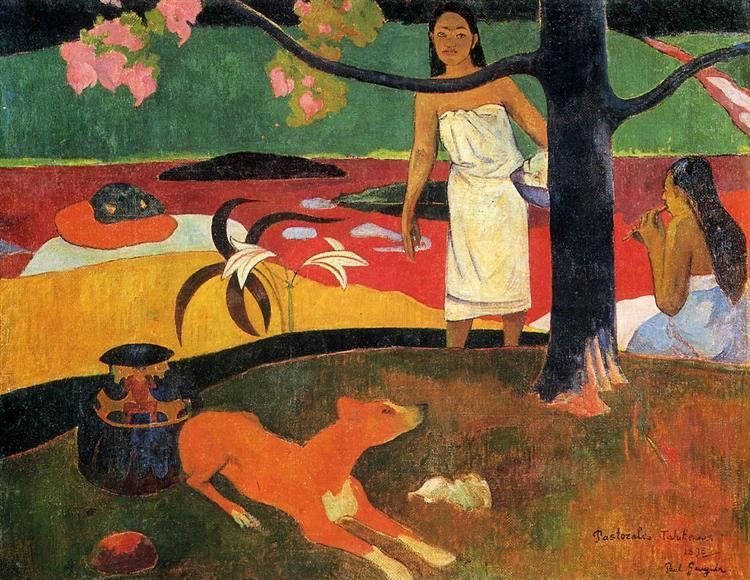 Tahitian pastorale, 1898 - Paul Gauguin