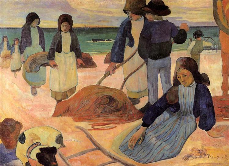 The Kelp Gatherers, 1889 - Paul Gauguin