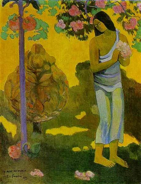 The month of Maria, 1899 - Paul Gauguin