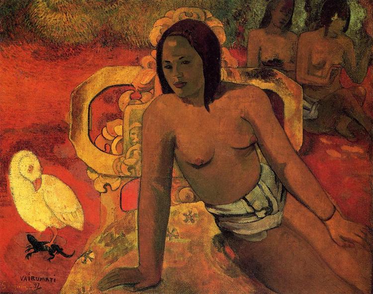 Vairumati, 1892 - Paul Gauguin