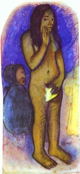 Words of the Devil, 1892 - Paul Gauguin