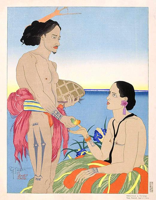 Amoreux A Tarang Yap. Ouest Carolines, 1935