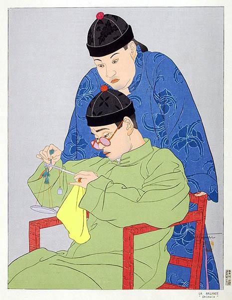 La Balance. Chinois, 1939