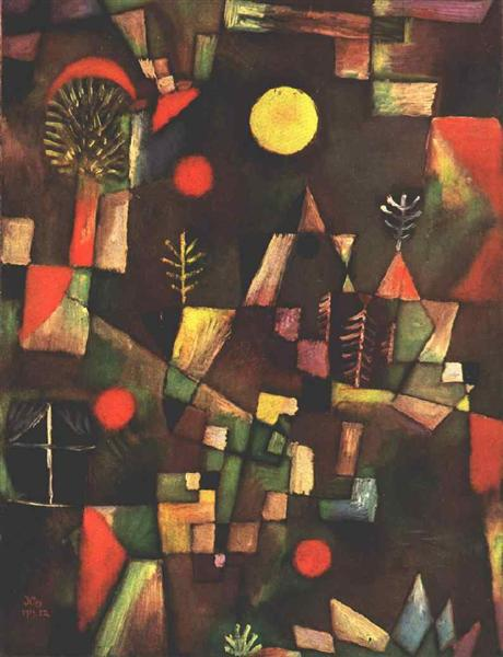 Full moon, 1919 - Paul Klee