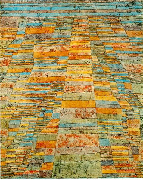 Highway and byways - Paul Klee
