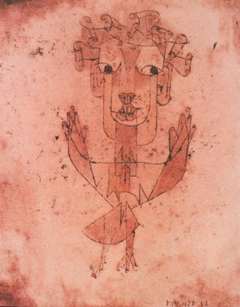 New Angel, 1920 - Paul Klee