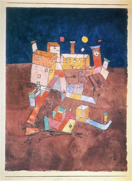 Part of G, 1927 - Paul Klee