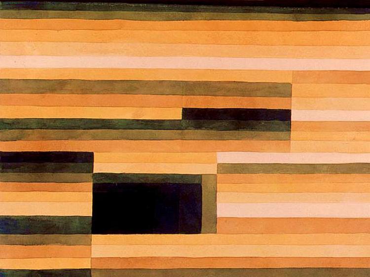Rock Chamber - Paul Klee