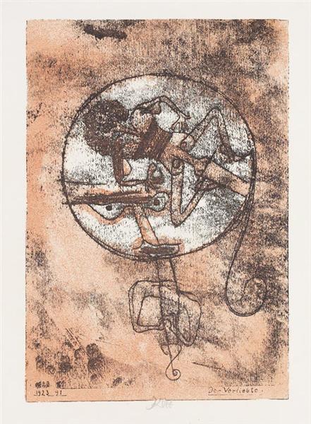 The lover, 1938 - Paul Klee