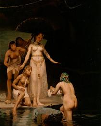 The Discovery of Moses - Paul Peel