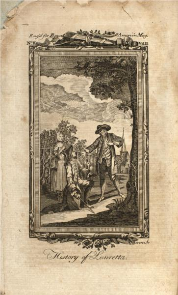 History of Lauretta, 1775 - Paul Revere