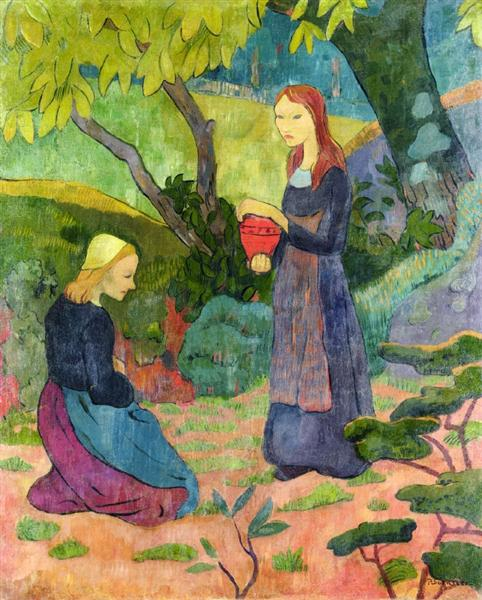 Madeline with the Offering, 1892 - Paul Serusier