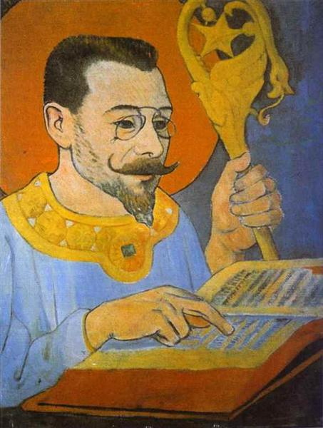 Portrait of Paul Ranson Dressed as a Prophet, 1890 - Поль Серюзье