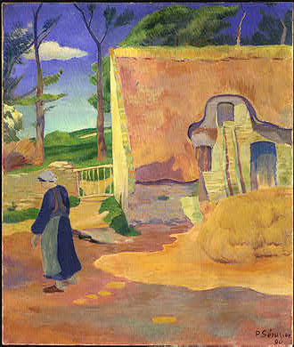 The Farm at Pouldu, 1890 - Paul Serusier