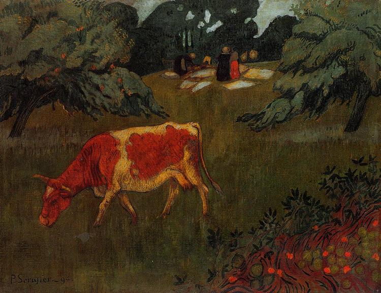 The Wash in a Large Meadow, 1894 - Paul Serusier