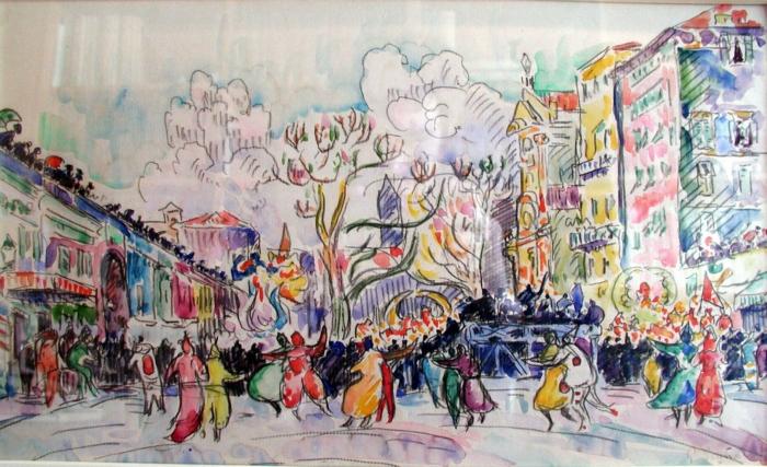 Carnival at Nice - Paul Signac