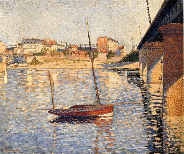Le Clipper, Asnieres, 1887 - Paul Signac
