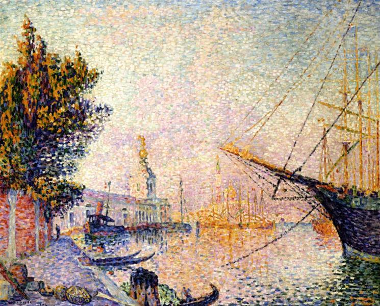 The Dogana, 1904 - Paul Signac