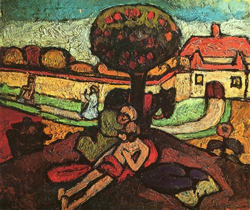 The Good Samaritan - Paula Modersohn-Becker