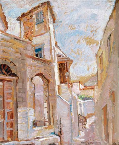 Ionian alley, 1936 - Periklis Vyzantios