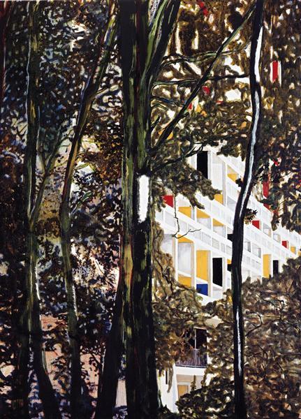 Briey (Concrete Cabin), 1996 - Питер Дойг