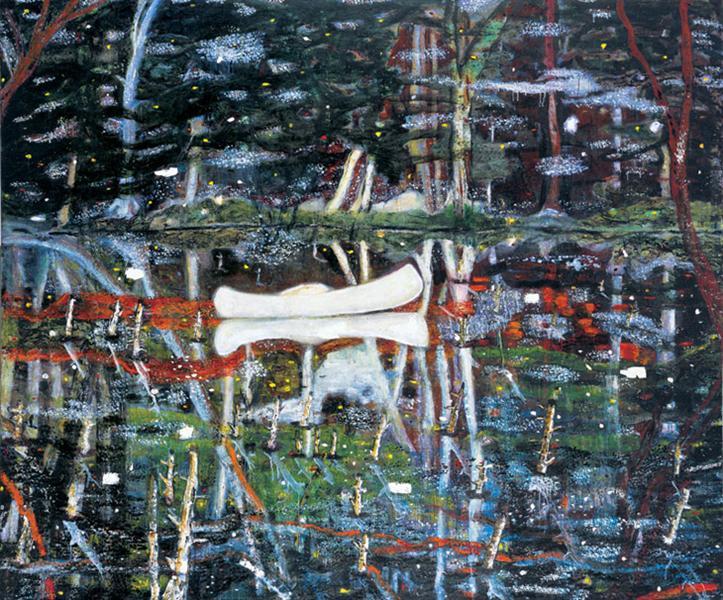 White Canoe - Peter Doig