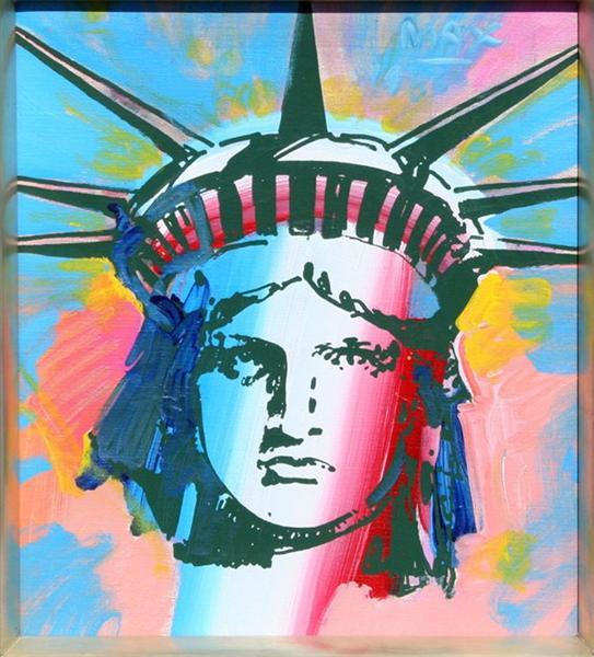 Liberty Head, 1986 - Peter Max