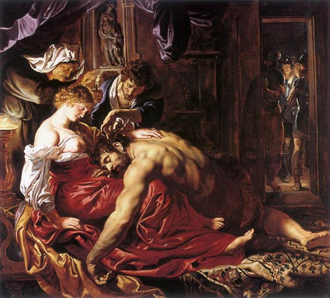 Samson and Delilah - Peter Paul Rubens