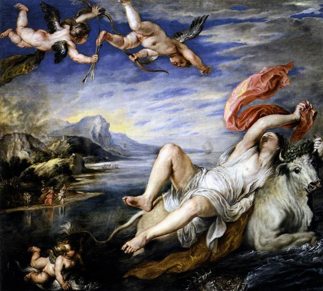 The Rape of Europa, c.1630 - Peter Paul Rubens