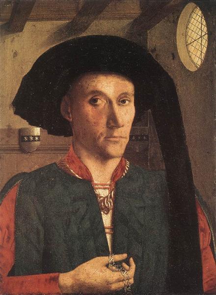 Portrait d'Edward Grimston, 1446 - Petrus Christus
