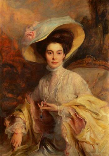 Crown Princess Cecilie of Prussia, 1906 - Philip de Laszlo