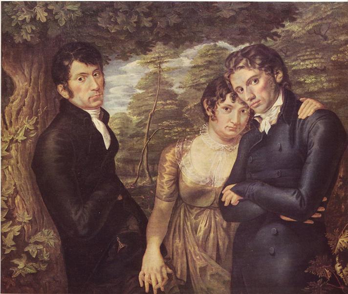 Wir drei - Philipp Otto Runge