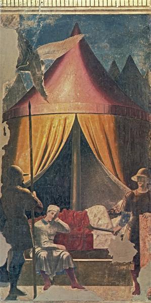The Dream of Constantine, 1464 - Piero della Francesca