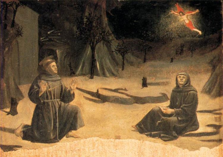 The Stigmatisation of St. Francis, c.1460 - Piero della Francesca