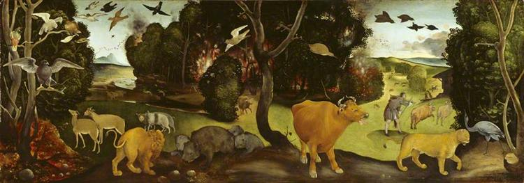 The Forest Fire, 1505 - Piero di Cosimo