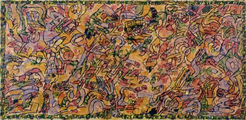 Codex, 1981 - Pierre Alechinsky